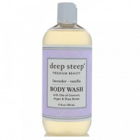 Deep Steep, Body Wash, Lavender - Vanilla, 17 fl oz (503 ml)