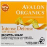 Avalon Organics, Intense Defense, With Vitamin C, Renewal Cream, 2 oz (57 g)